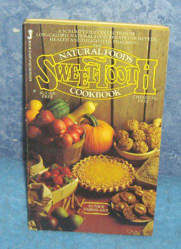Old Book Covers For Sale ~ Vintage natural foods sweet tooth cookbook b for sale