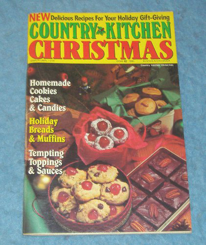 Vintage Country Kitchen Magazine Christmas B4313 For Antiques Com Classifieds