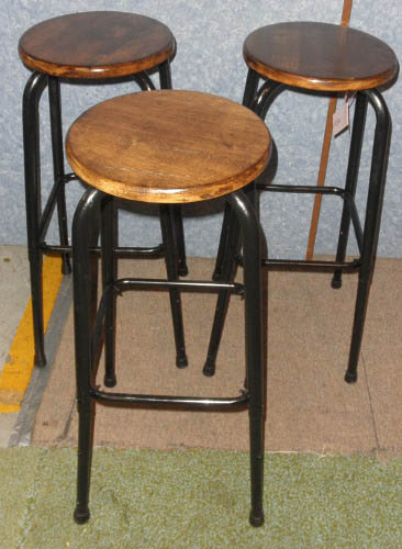 3 Vintage Bar Stools B5284 - For Sale & 3 Vintage Bar Stools B5284 For Sale | Antiques.com | Classifieds islam-shia.org