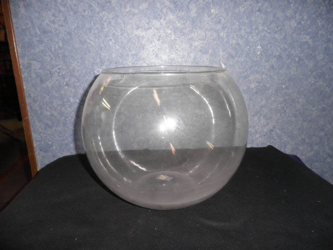 Fish Bowl Exta Large Glass B81 For Sale