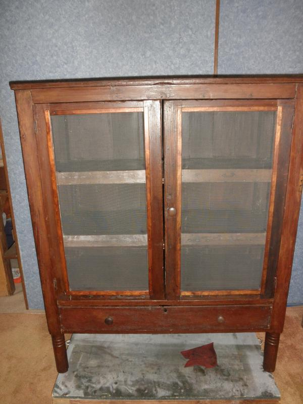 - Pie Safe Primitive - DD337 For Sale Antiques.com Classifieds