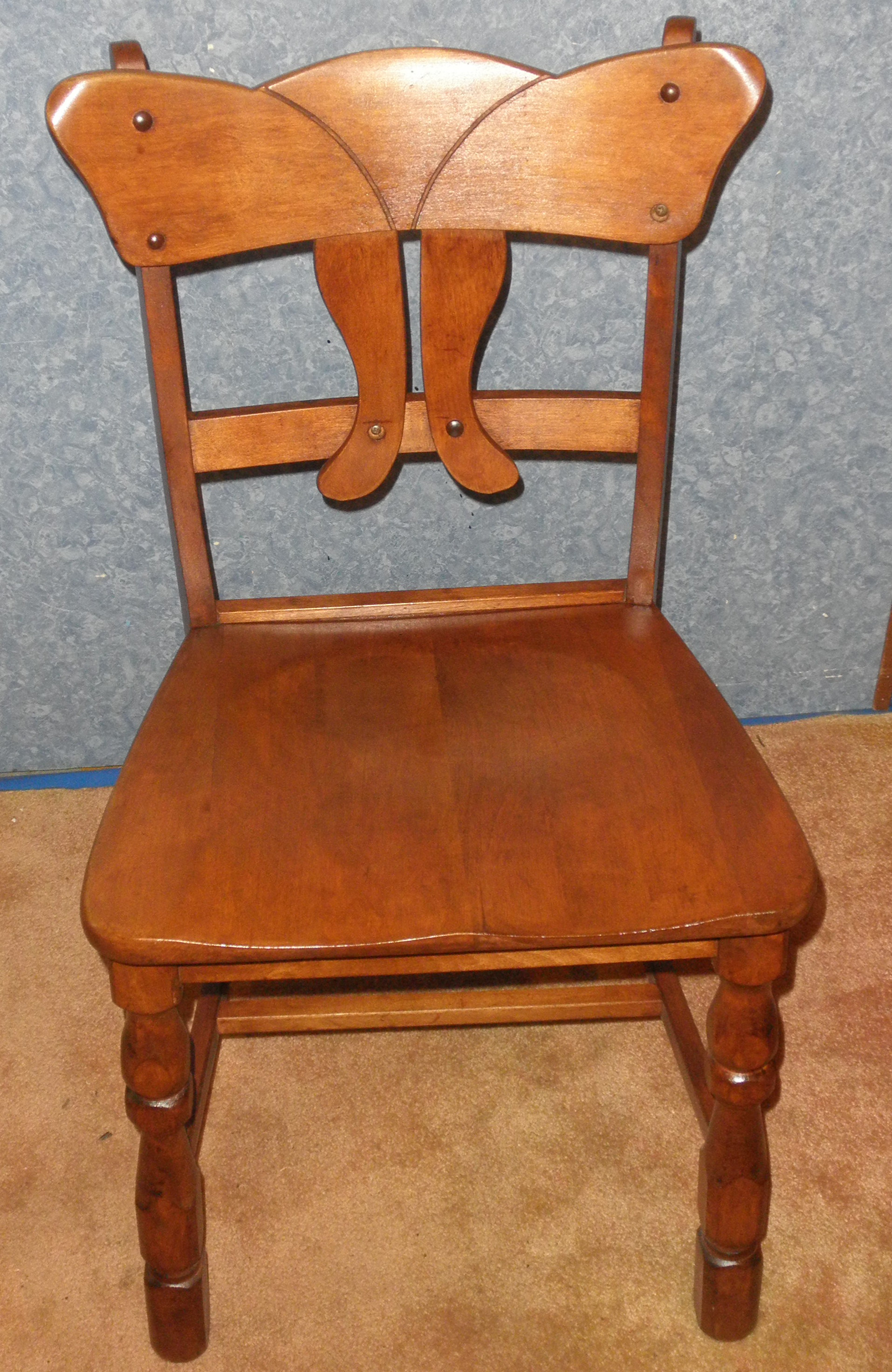 Chair - Solid Maple B5417 For Sale | Antiques.com | Classifieds