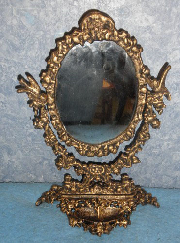 Mirror free standing y952 for sale for Antique standing mirror