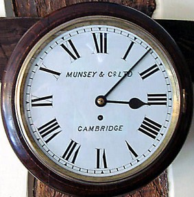 Victorian Oak Cased Fusee Wall Clock 2636 For Sale Antiques Com