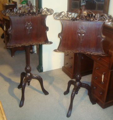 pair of victorian music stands 3071 for sale classifieds. Black Bedroom Furniture Sets. Home Design Ideas