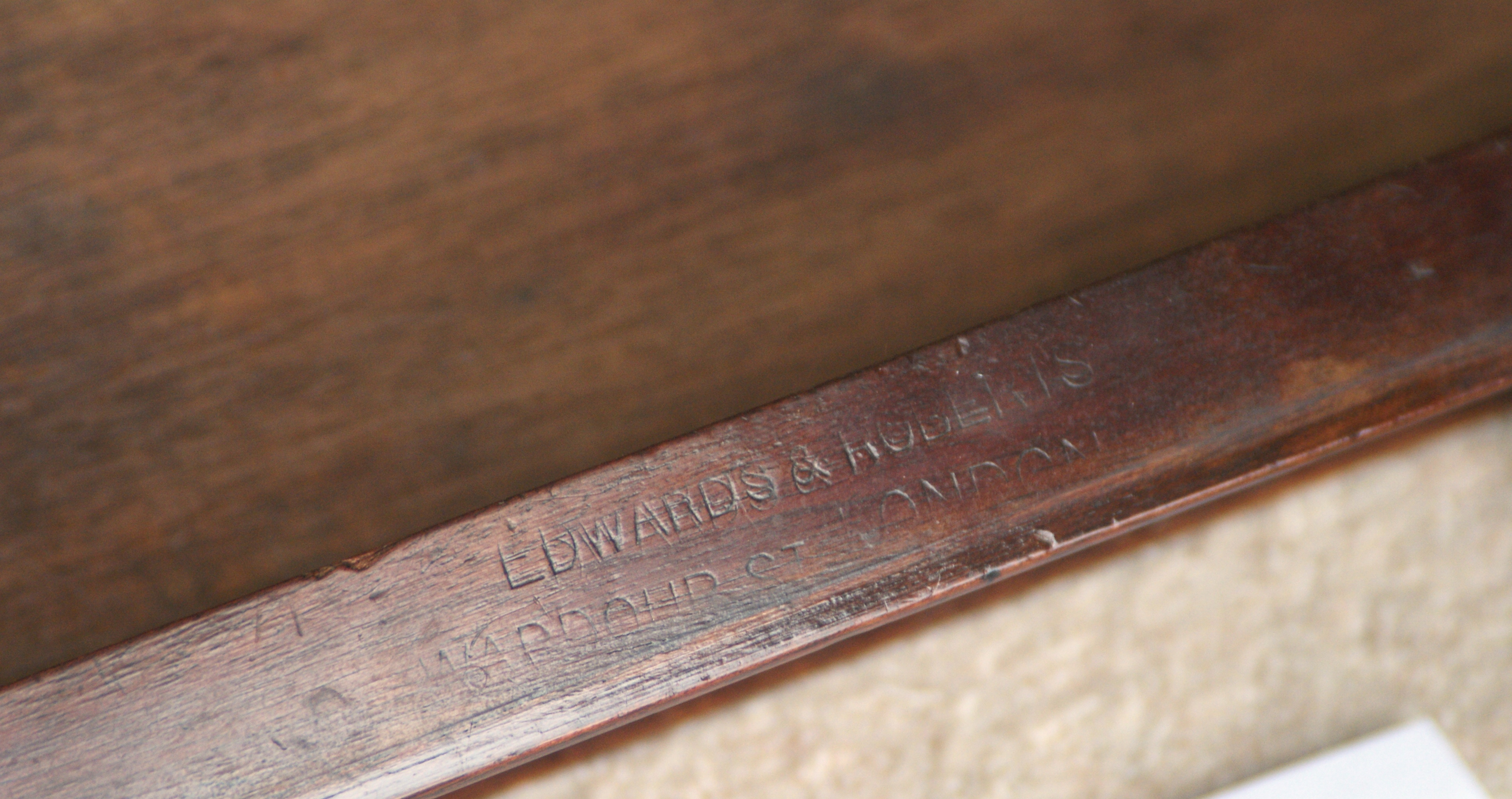 Antique Writing Table by Edwards amp Roberts London Ref 3031 For