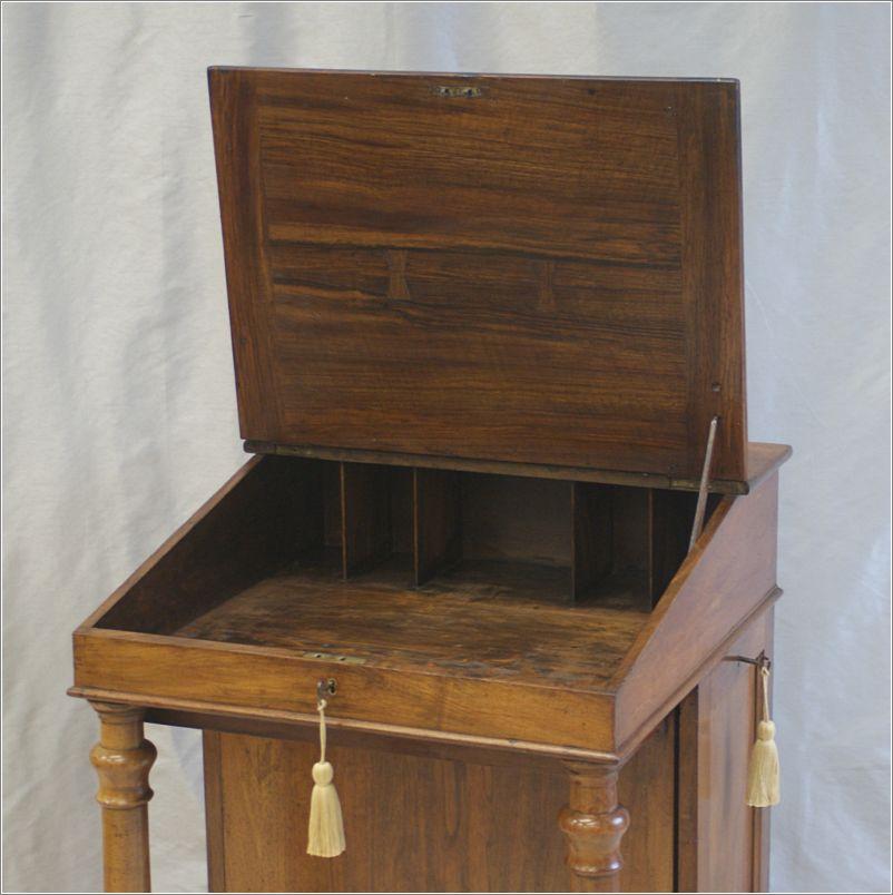 Antique Victorian Clerks Desk Davenport Desk Ref 4017 For