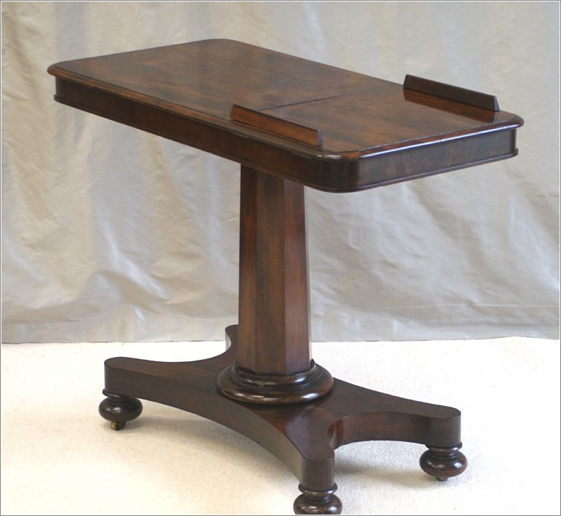 Antique Victorian Mahogany Reading Table Ref 7006 For Sale