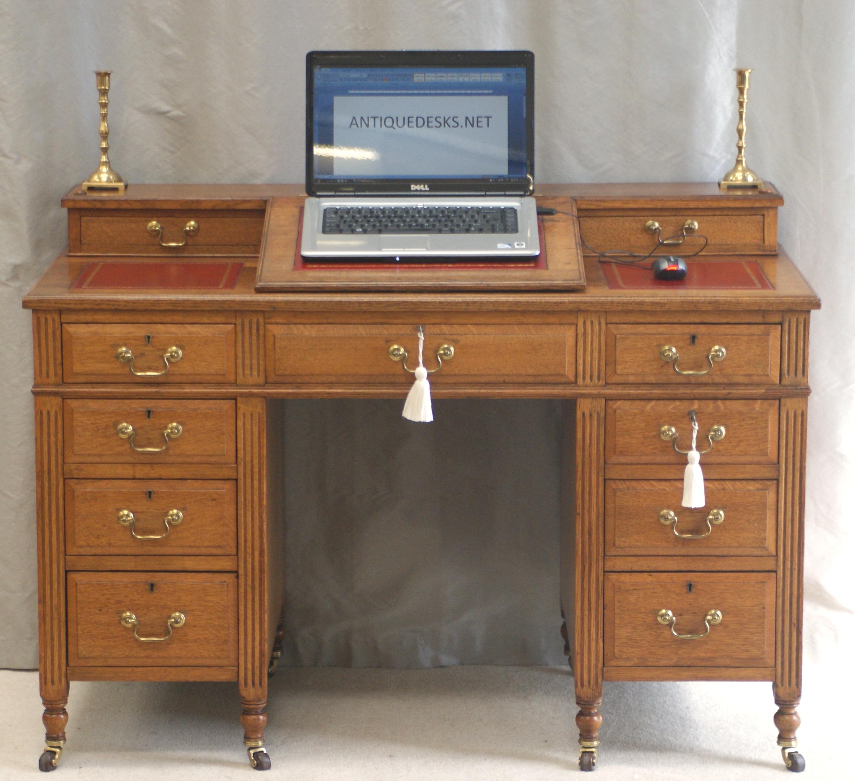 antique victorian oak dickens desk ref 4025 for sale classifieds. Black Bedroom Furniture Sets. Home Design Ideas