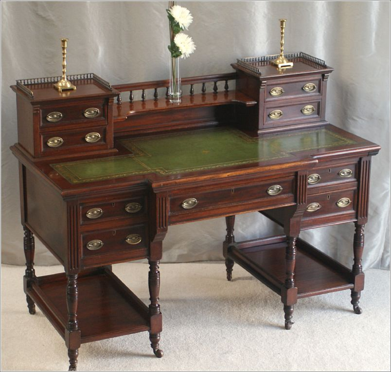 Antique Victorian Mahogany Writing Desk 4018 - For Sale - Antique Victorian Mahogany Writing Desk 4018 For Sale Antiques.com
