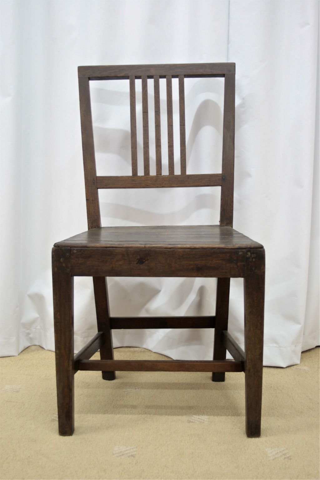 jointed oak dining chair for sale classifieds. Black Bedroom Furniture Sets. Home Design Ideas