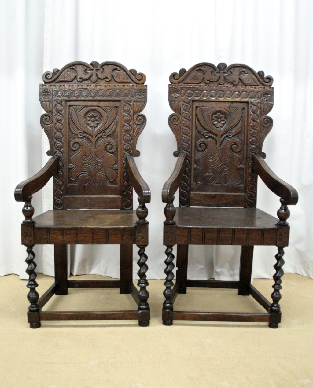 19th century oak wainscot style chairs for sale classifieds - Reasons choosing vintage style furniture ...