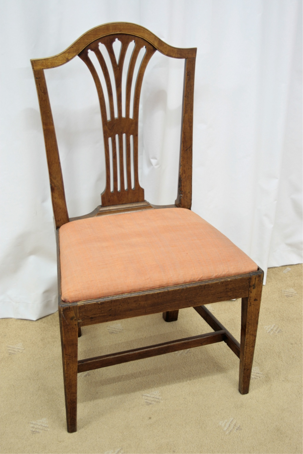 Six Georgian Mahogany Dining Chairs For Sale | Antiques ...