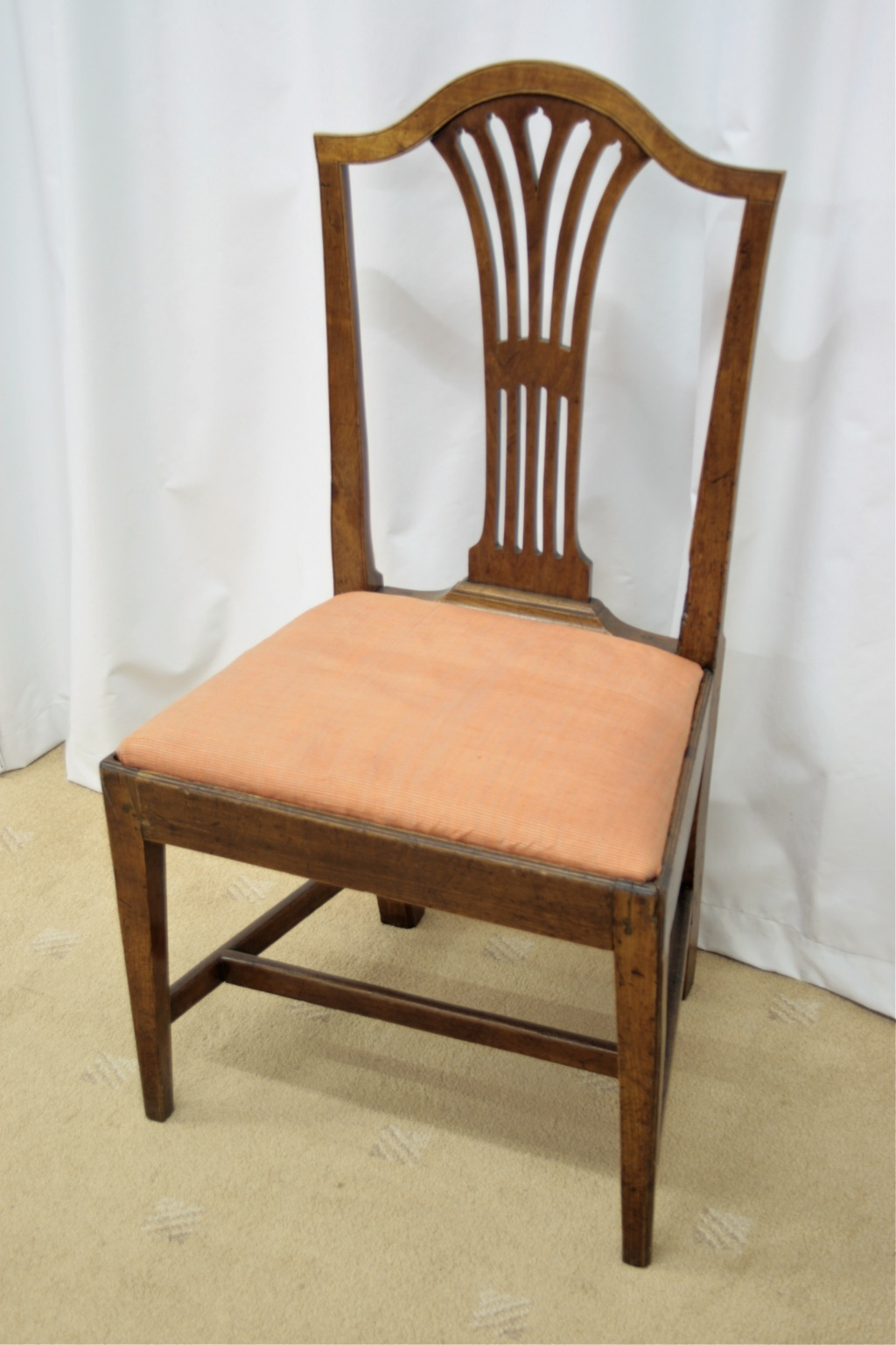 six georgian mahogany dining chairs for sale classifieds. Black Bedroom Furniture Sets. Home Design Ideas