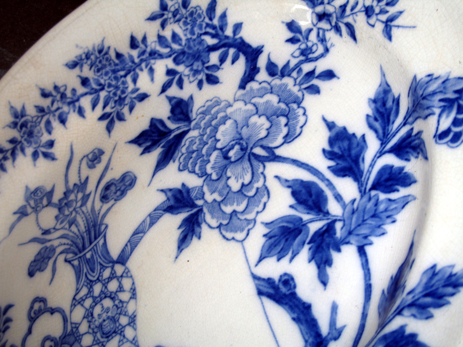 Blue and white pottery -
