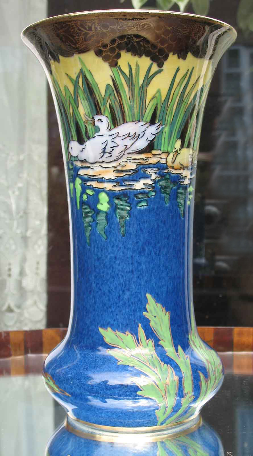 antique decorative ceramics an extremely maling vase 6021 for sale antiques