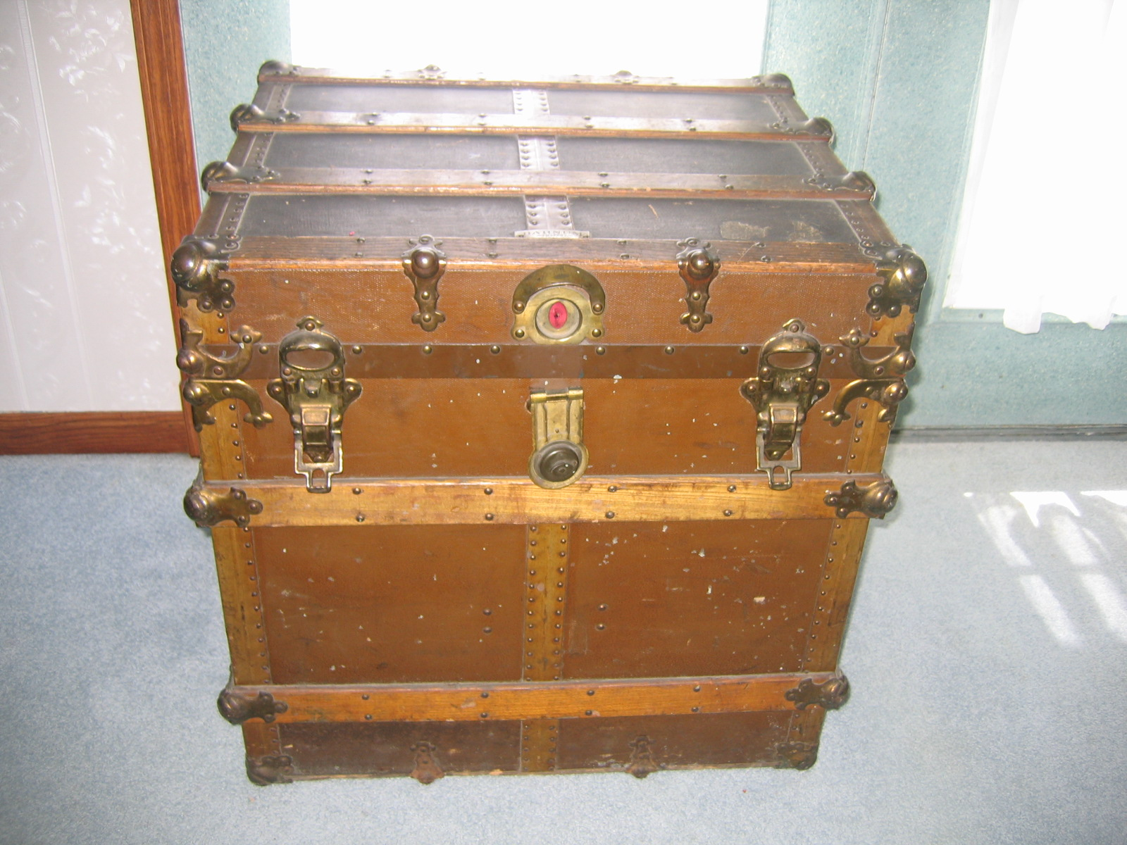vintage storage trunks