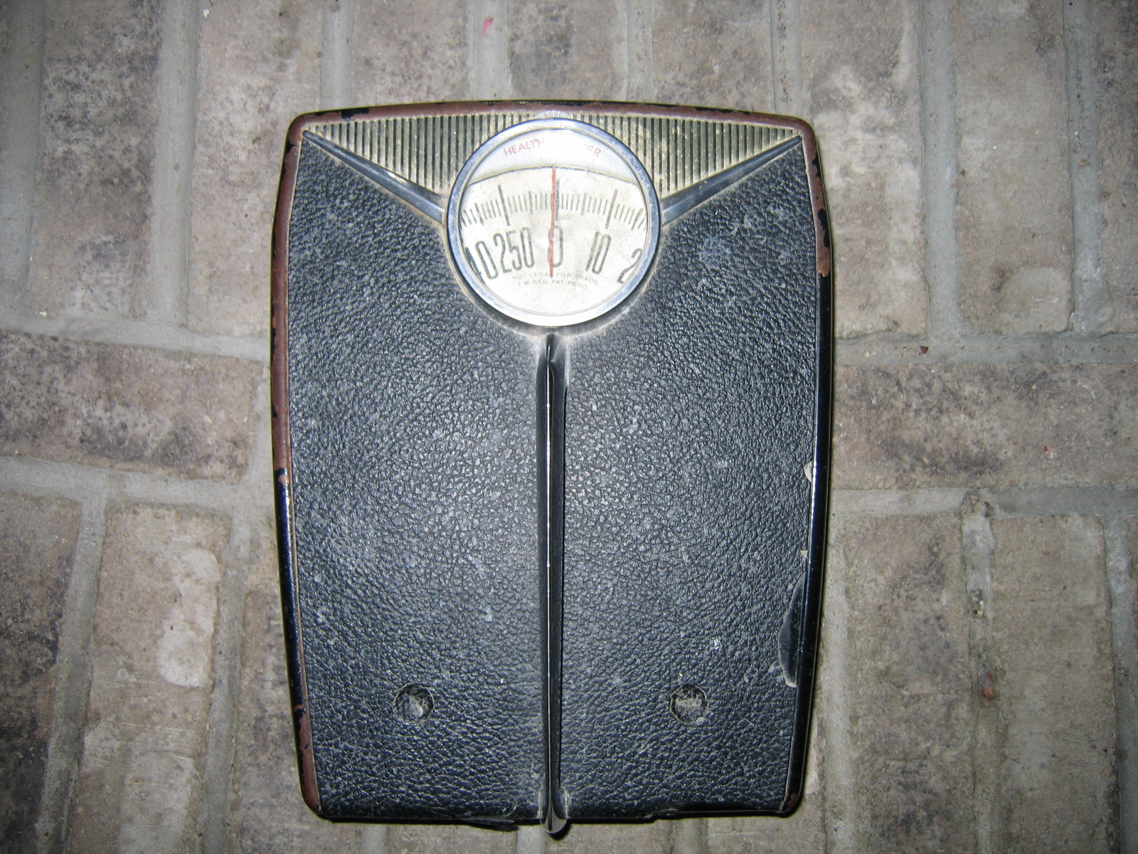 Vintage Health O Meter Bathroom Weight Scale Item #157 For ...