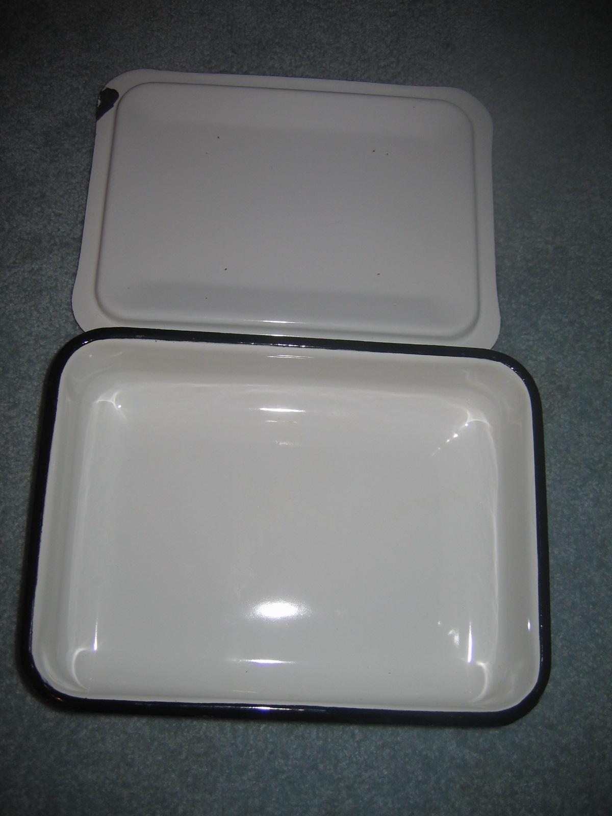 Vintage White Enamelware 78