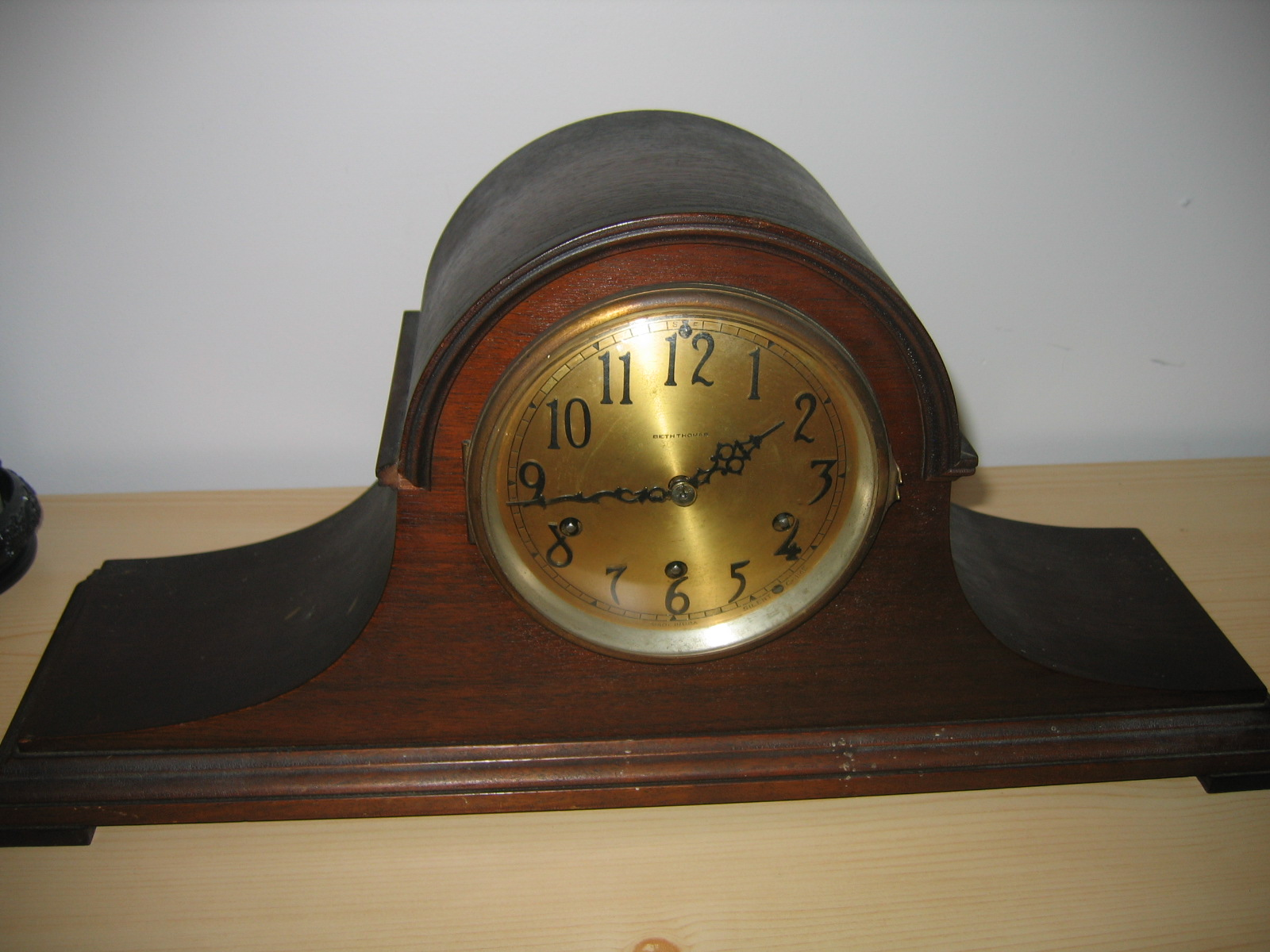 seth thomas antique mantel clock
