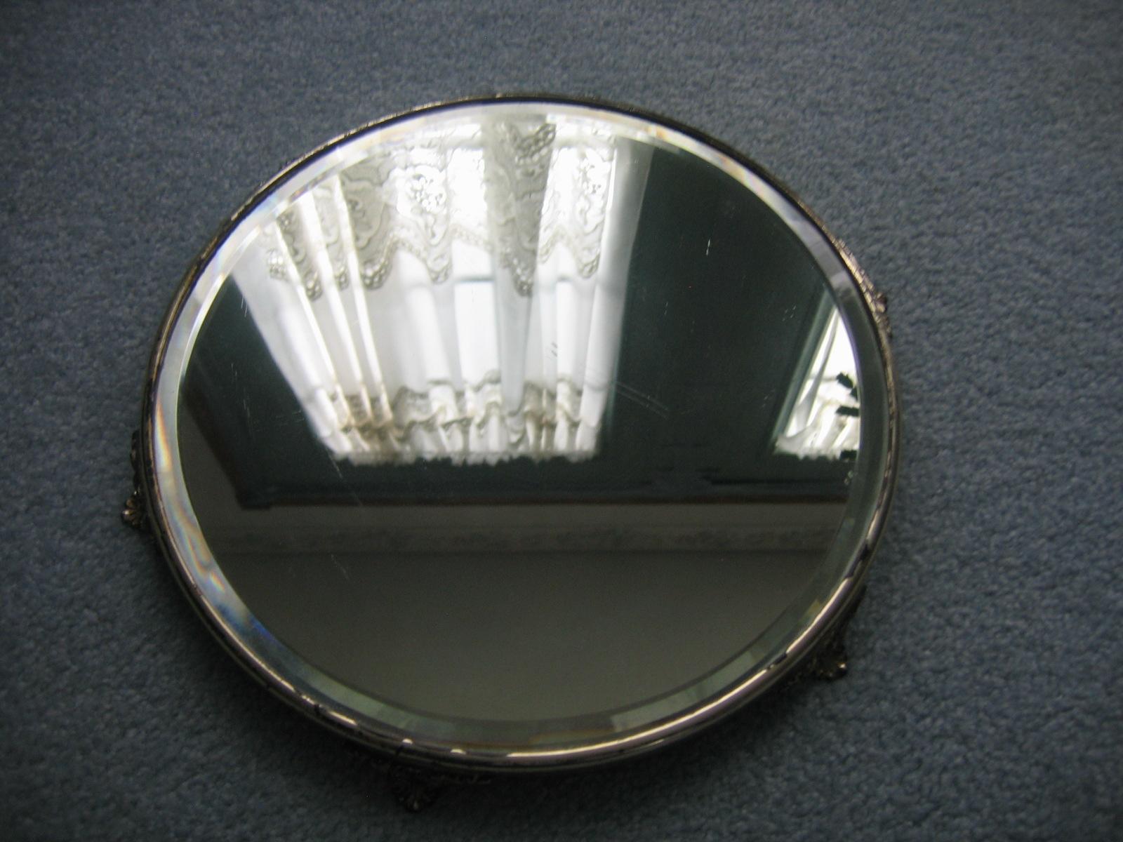 vintage beveled glass vanity dresser mirror item 836 for sale classifieds. Black Bedroom Furniture Sets. Home Design Ideas