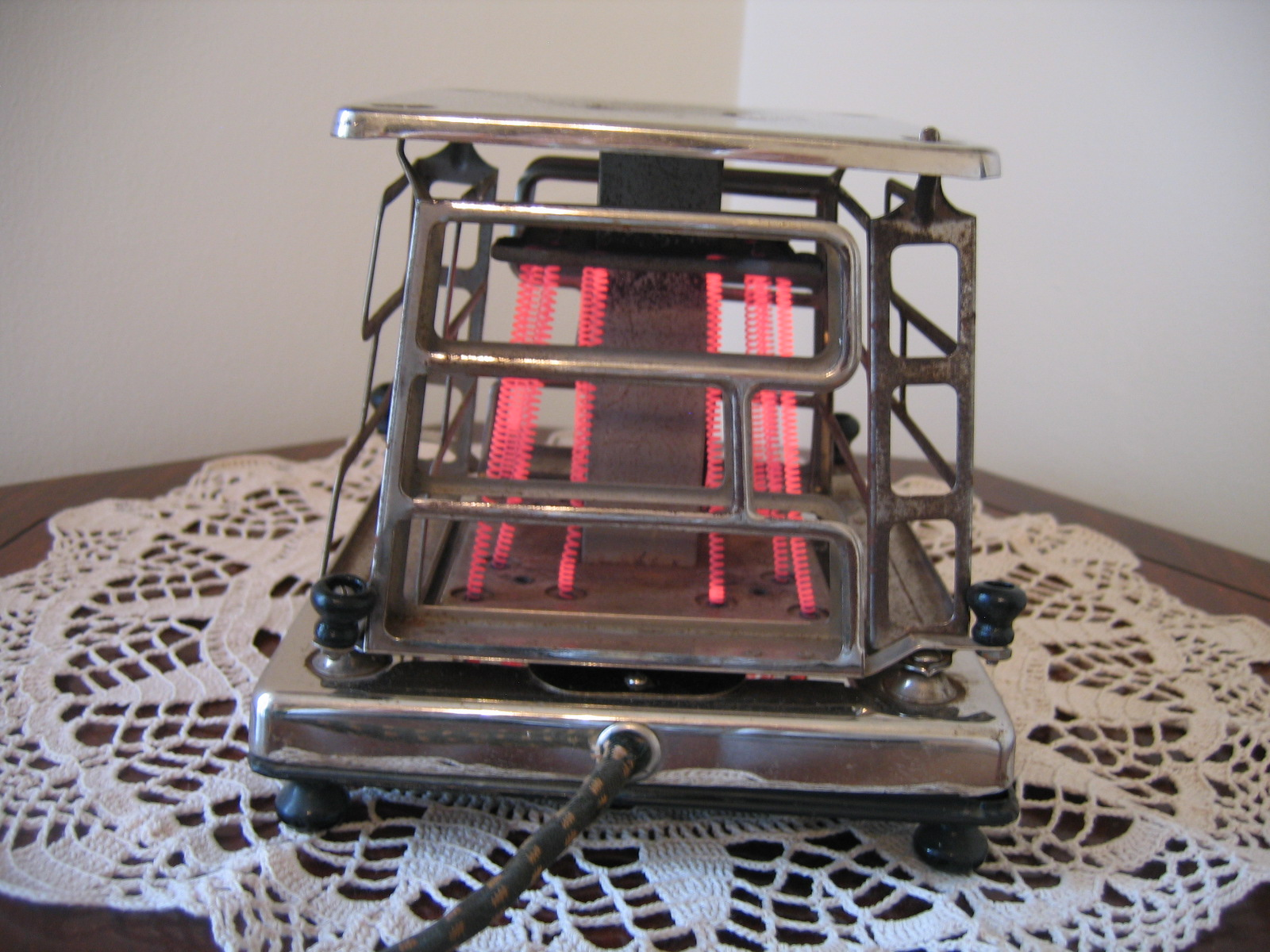 1920 Electric Toaster ~ Vintage s estate stove company electric four sided