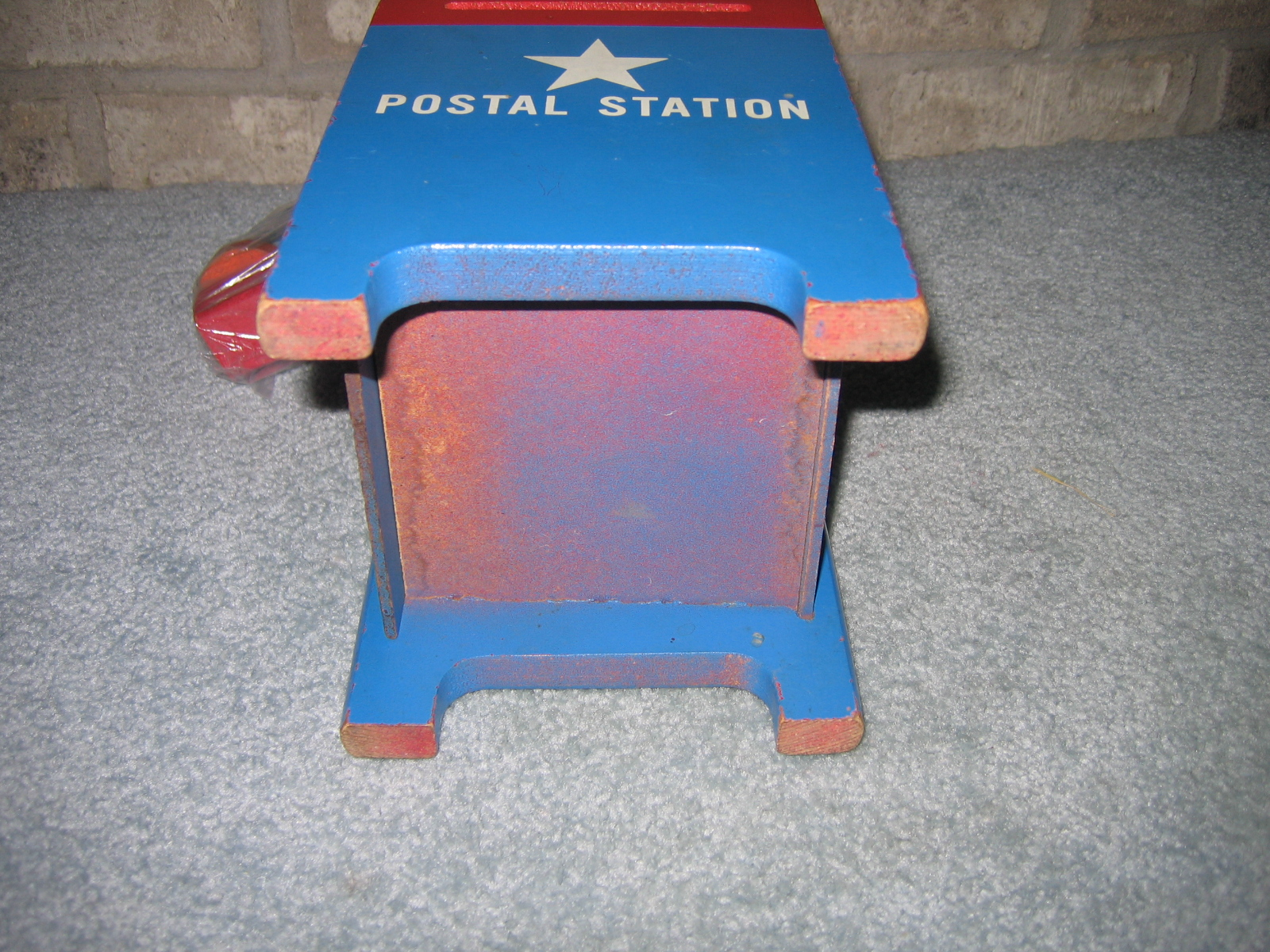 Awesome Vintage Playskool Wooden Postal Station Educational Shape Gmtry Best Dining Table And Chair Ideas Images Gmtryco
