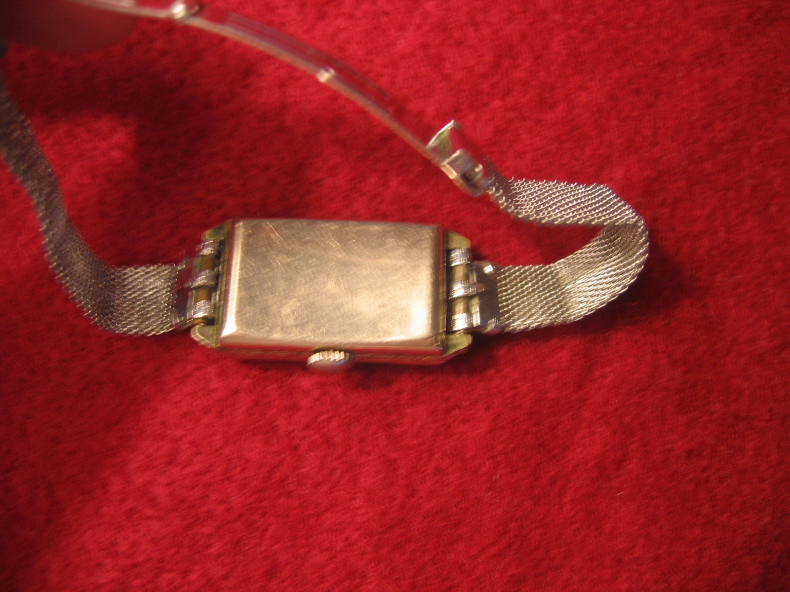 Antique Ladies 15 Jewels Swiss Movment 14kt White Rolled
