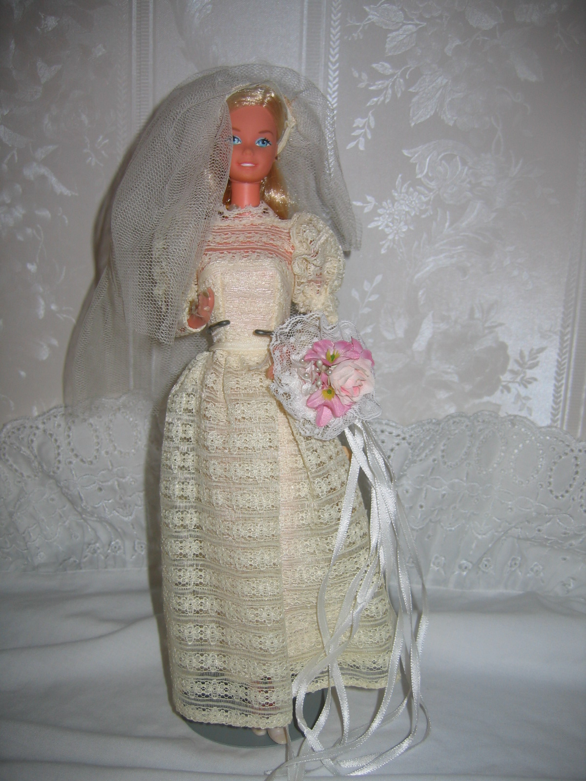 Vintage barbie beautiful bride fashion, hot babies showing sexy boobs