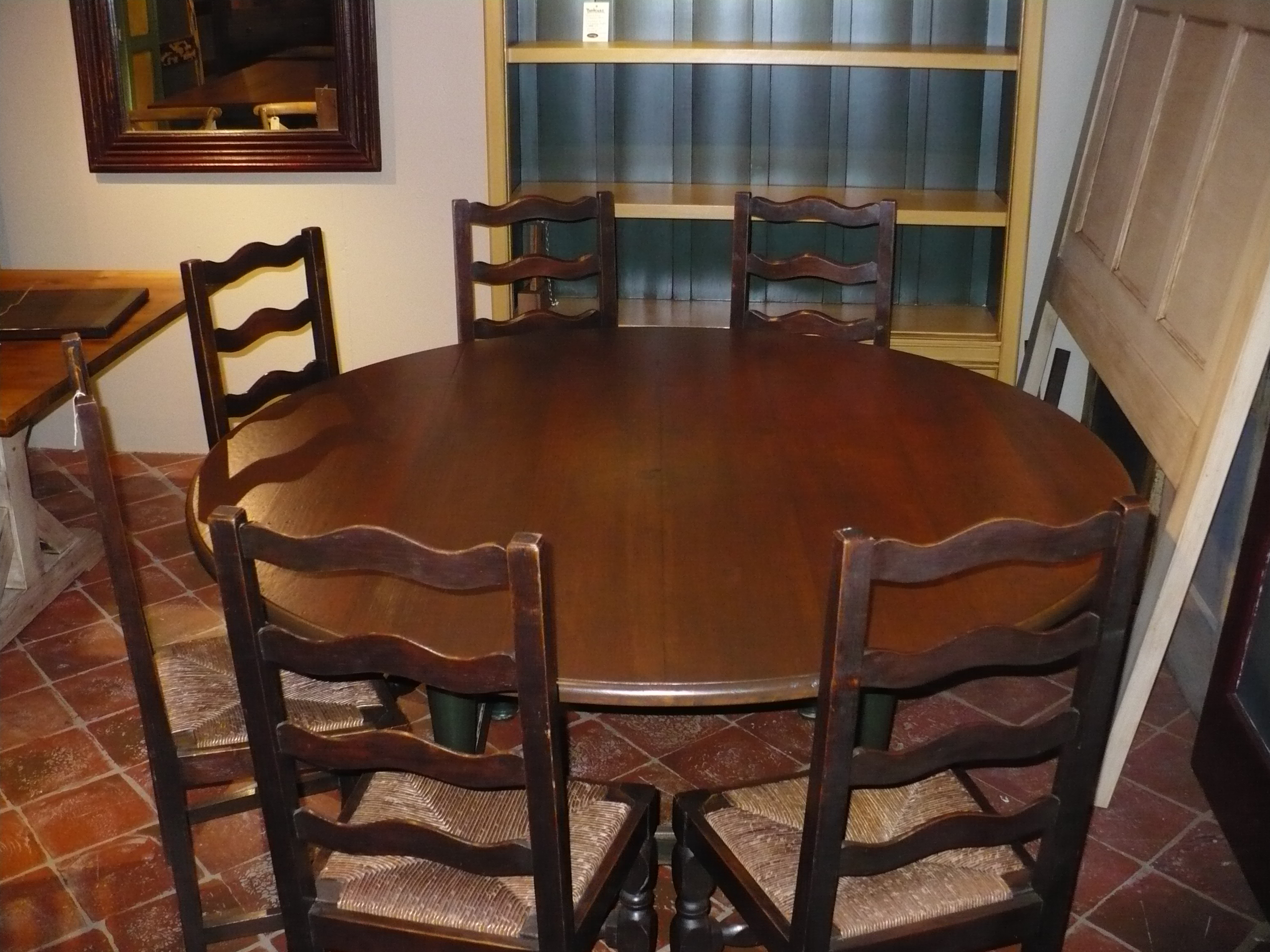 Round Farm Table For Sale