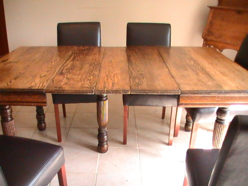 Dining table and china cabinet for sale antiquescom for Dining table and china cabinet
