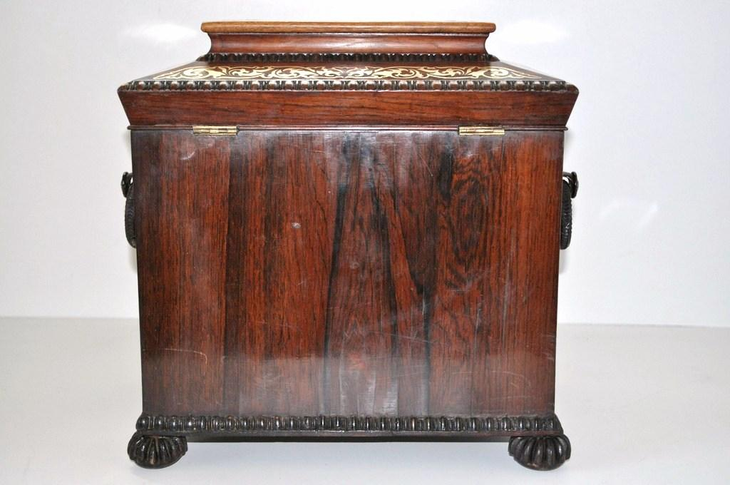 antique rosewood sewing table cabinet for sale classifieds. Black Bedroom Furniture Sets. Home Design Ideas