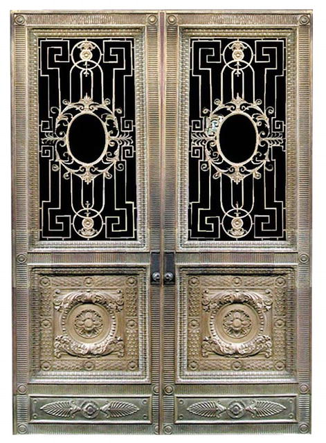 Condition:Restored Year:19th C.Fantastic bronze doors by Winslow Bros. One of 19th century\u0027s foremost bronze smiths. These doors are fitted with a walnut ... & Bronze Doors by Winslow Bros. For Sale | Antiques.com | Classifieds Pezcame.Com