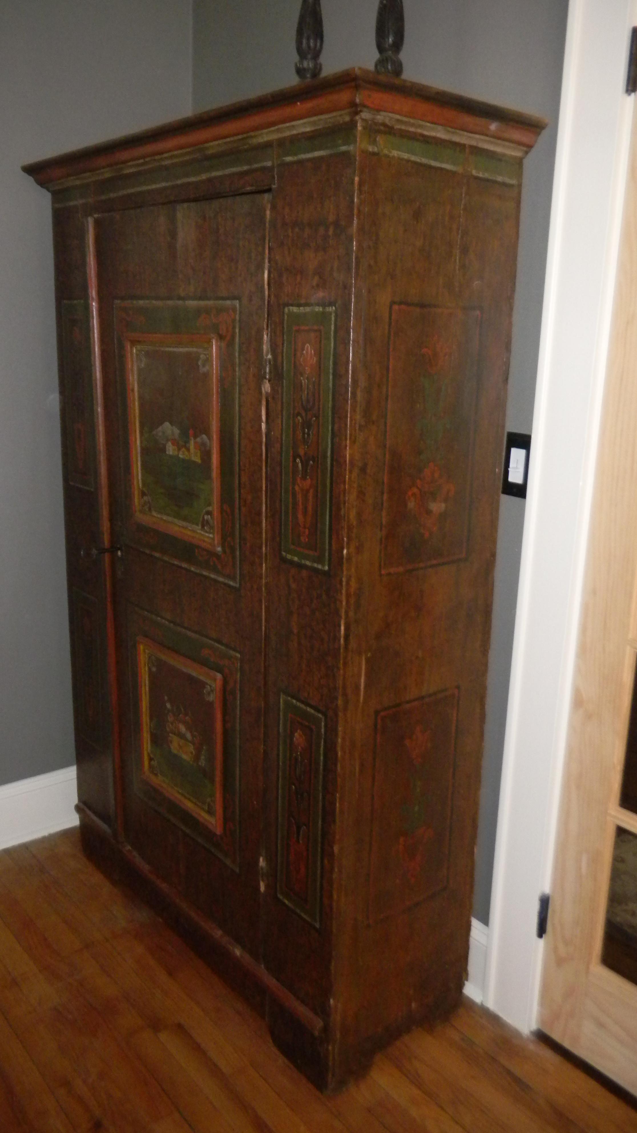 austrian armoire 1800 s for sale antiques com classifieds