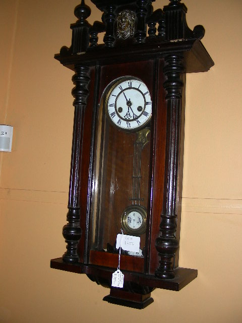 wall clock circa 1880 stock number 1656 for sale