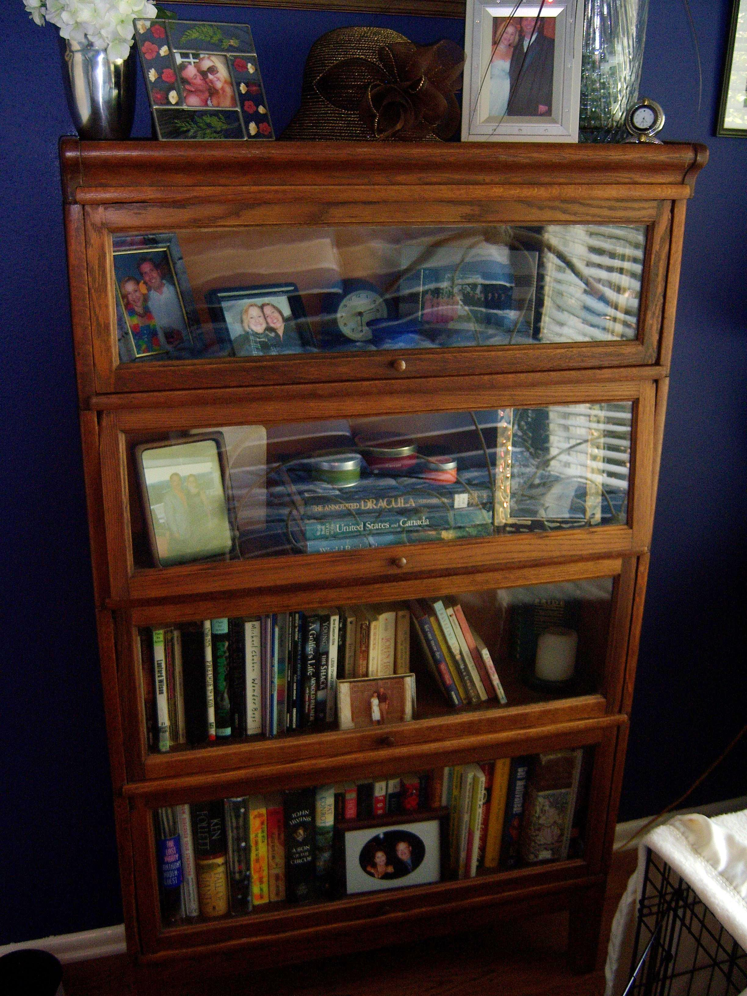 4 Section Barrister Bookcase For Sale Antiques Com Classifieds