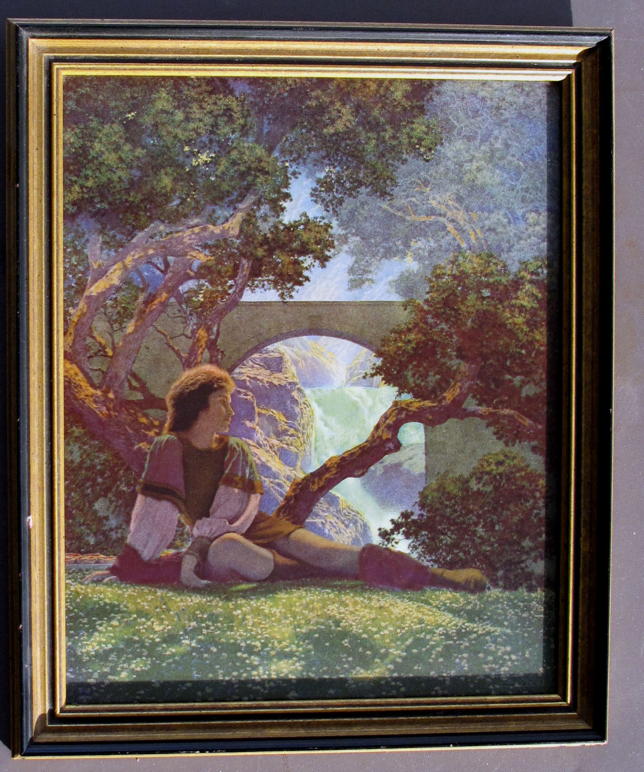 Maxfield parrish the prince 1925 house of art print for for Art print for sale