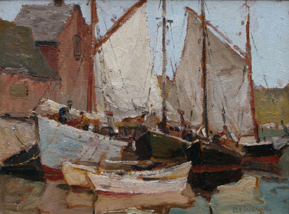 Motif #1 Rockport Anthony Thieme (1888-1954) For Sale