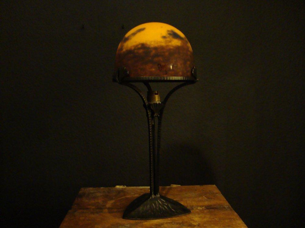 art deco table lamp degue france for sale classifieds. Black Bedroom Furniture Sets. Home Design Ideas