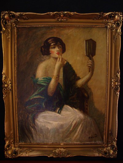 Art Nouveau Painting Hungary For Sale Antiques Com