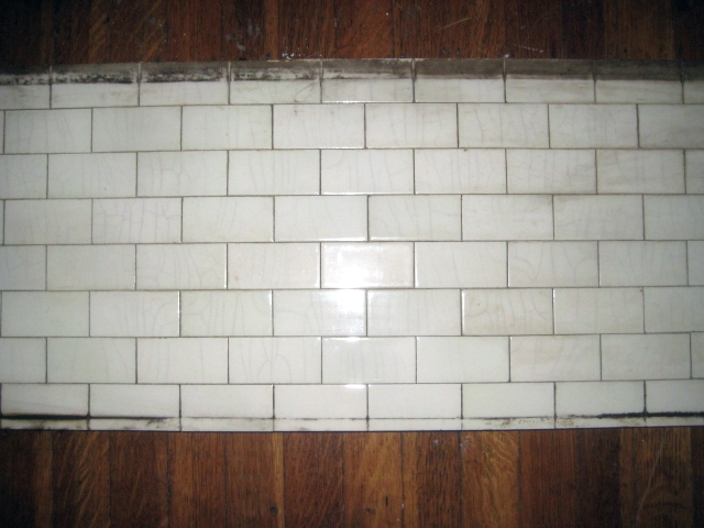 Victorian Era White Tile Fireplace Surround Sold For