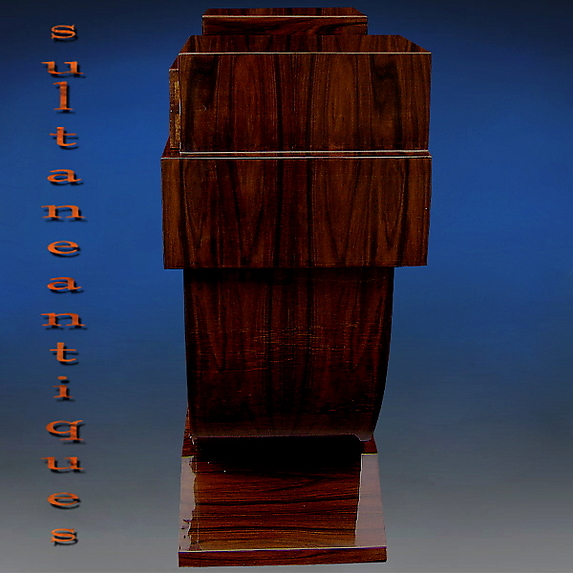 designers delight art deco style rosewood console for sale art deco style rosewood