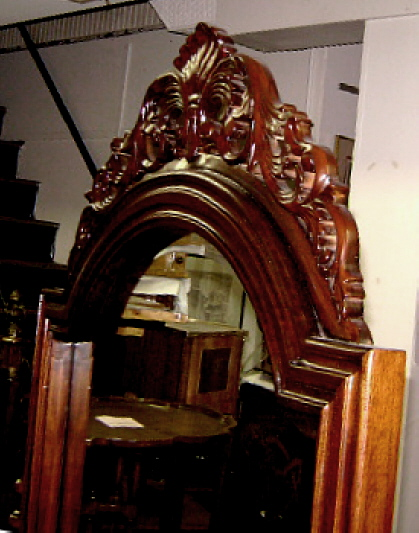 Quality large victorian mahogany standing mirror for sale Large wooden mirrors for sale