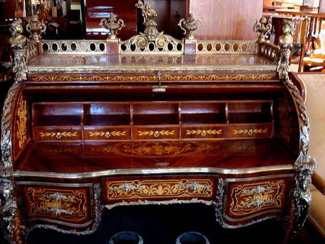 Bureau du roi louis xv style museum worthy piece for sale
