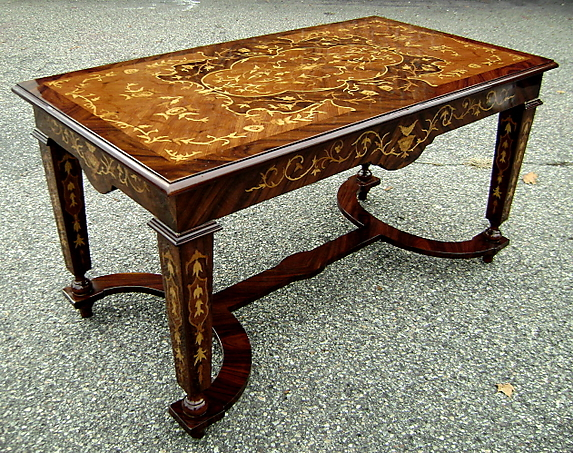 Gorgeous Italian Florentine Style Coffee Table 3480 Sm33