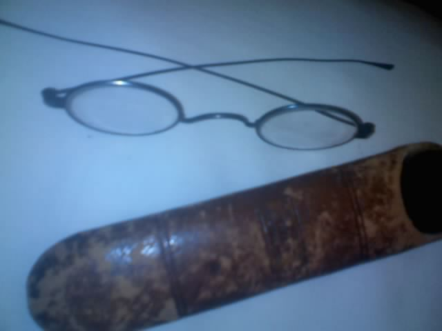 1865 Eyeglasses Amp Original Case For Sale Antiques Com