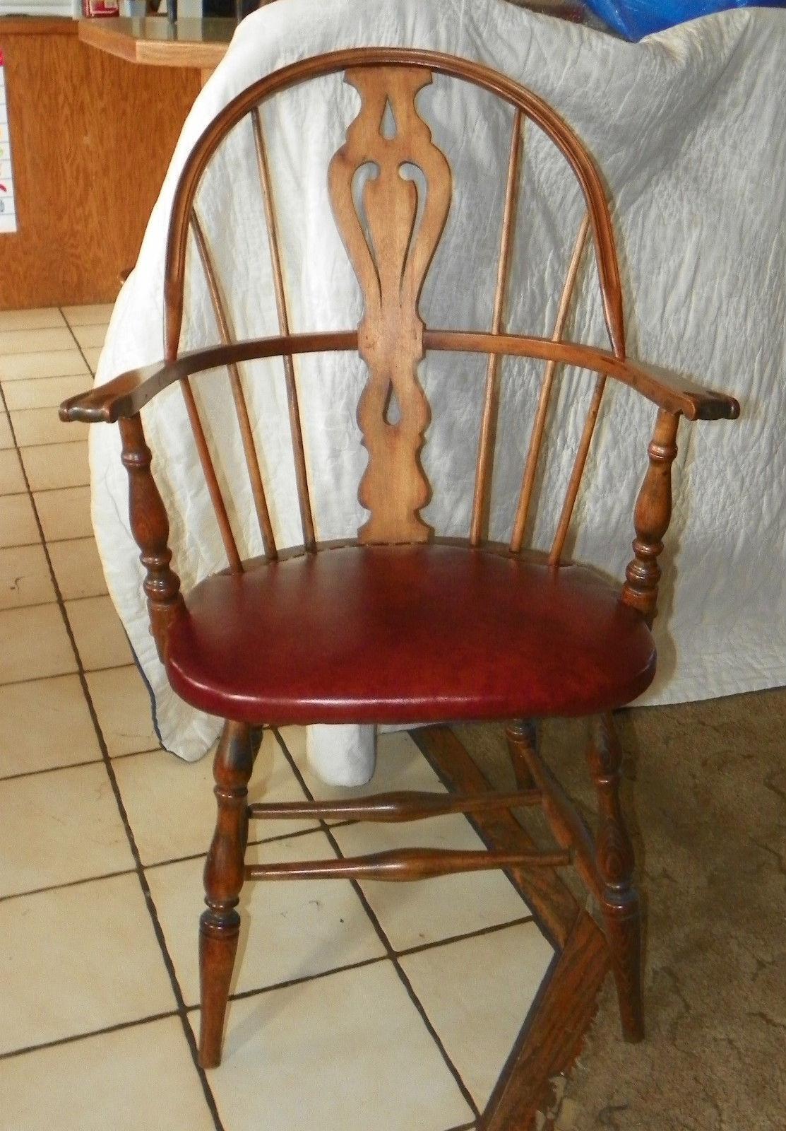 Pleasant Oak Maple Heywood Wakefield Windsor Armchair Desk Chair Uwap Interior Chair Design Uwaporg