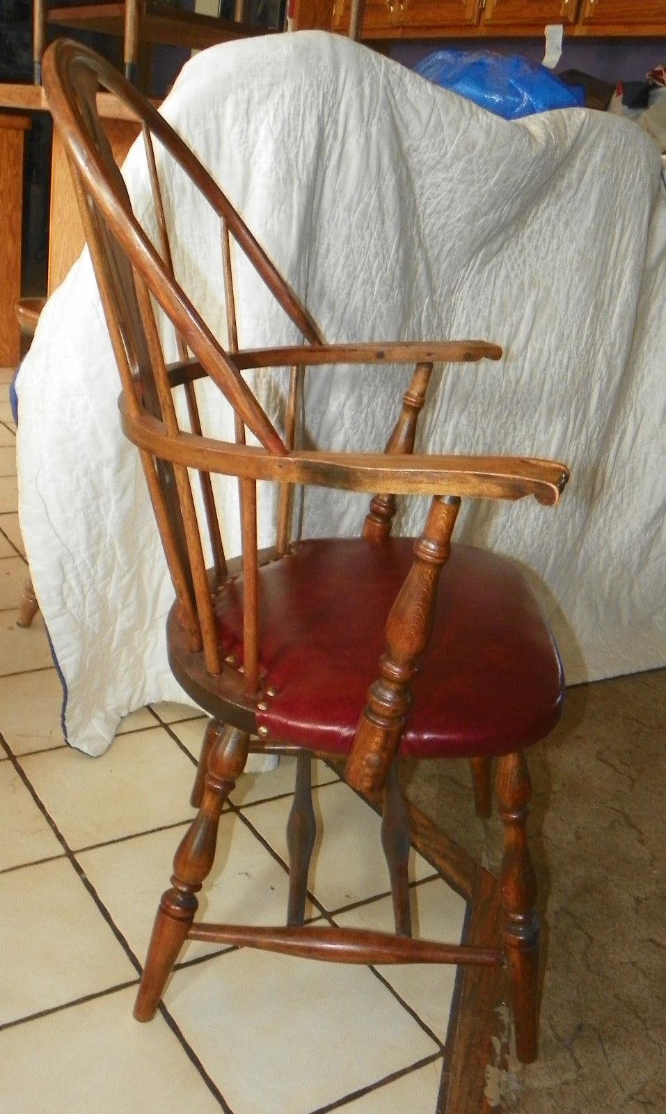 Oak Amp Maple Heywood Wakefield Windsor Armchair Desk Chair