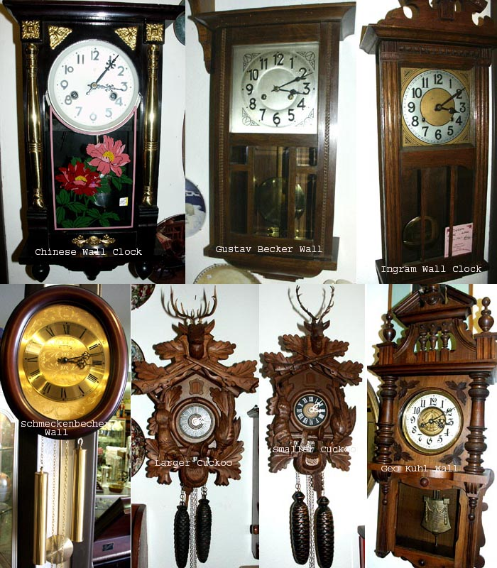 Antique Clocks Gallery In Sacramento For Sale Antiques