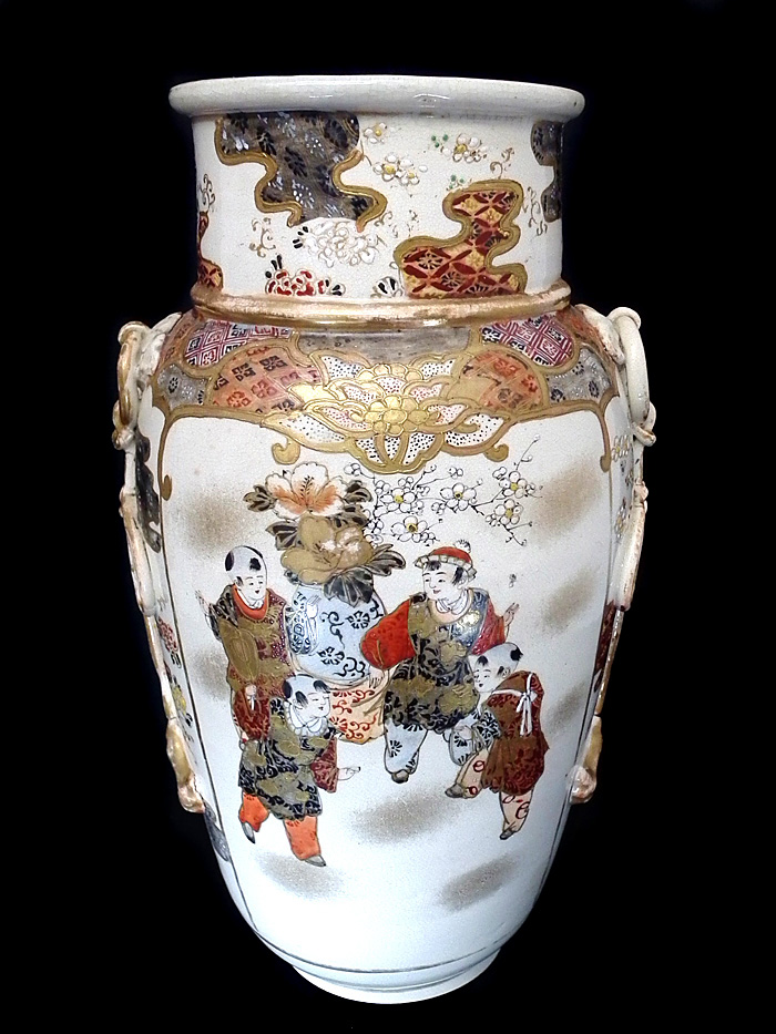 Chinese Hand Painted Antique Vase C1900 For Sale Antiques